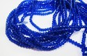Hydro Quartz Lapis Lazuli Micro Faceted Beads