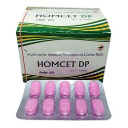 Levocetirizine HCL Paracetamol Phenylephrine HCL and Caffeine Tablets