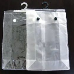 Pvc Hanger Button Bags