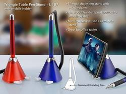 Triangle Table Pen Stand