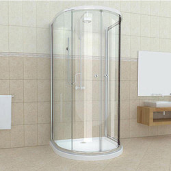 D Shape Cubicle Shower