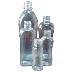 Transparent PVC Hair Oil Bottle