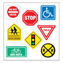 Traffic Safety Sign Board Printing, Packaging Type: Sheet