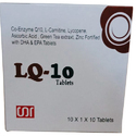 Co-enzyme Q10, L-carnitine, Lycopene, Ascorbic Acid, Green Tea Extract, Zinc Fortified With Dha & Ep