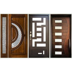Exterior Matte Designer Wooden Door, For Home