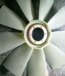 White Aluminium Fan Blade