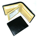 Men Black Leather Wallets