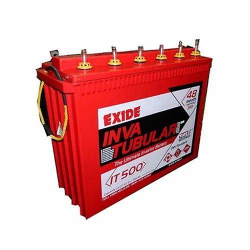 Exide IT500 Inva Tubular Battery, Capacity: 150 Ah @ 27 Degree Celsius, 12 V
