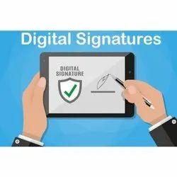 Electronic Newly Register Digital Signature Services, Digital Signature Creation, Authentication