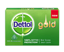Dettol Gold Bar Soap Daily Clean