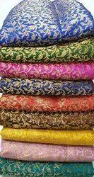 Jacquard Stylish Banarasi Fabric, GSM: 50-100
