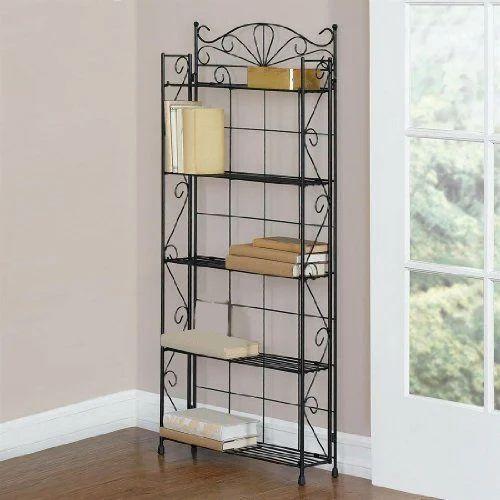 Wrought Iron Bookshelf