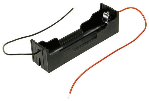 AdraxX 18650 Battery Holder ABS Plastic, Packaging Type: Box