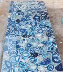 Blue Agate Back Lit Slab