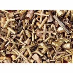 Industrial Brass Scrap, Golden, Size: 6 MM