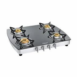 Sunflame Crystal Plus Dx 4B SS Aluminium Cooktop
