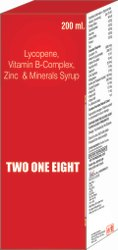 Lycopene Vit B Complex Zinc & Minerals Syrup