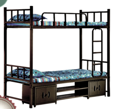 Bunk Bed With Lockers