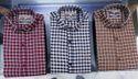 Men Check Shirt