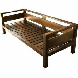 3 Seater Solid Wood Sofa