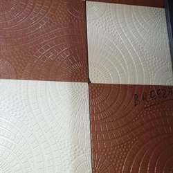 Matt Square 12x12 inch Designer Ceramic Floor Tile, Thickness: 9-10 Mm, Packaging Type: Box