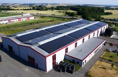 Industrial Solar Power Plant