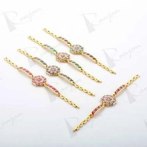 63b362d5e60f4 Ladies Navaratna Traditional Bracelet