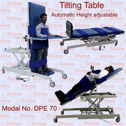 Automatic Tilting Table - Height Adjustable