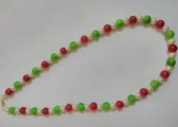 Pearl Red Green Necklaces