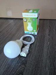 Cool Daylight Round LED Bulb Battery Sprayer