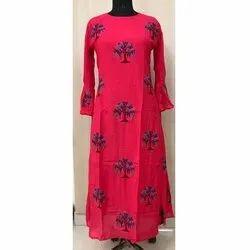 Bell Sleeves Long Dress
