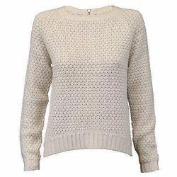 Ladies Full Sleeves Woolen Top