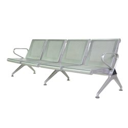 Powder Coated Stainless Steel Waiting Chair