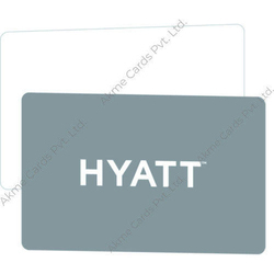 Plastic Rectangular Hotel Key Cards Printing