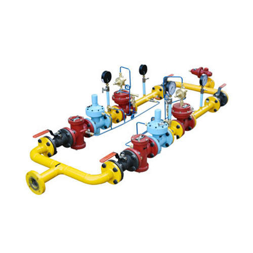 Gas Trains Pressure Reducing System