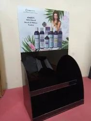 Acrylic Display Stand With UV Printing for Cosmetics