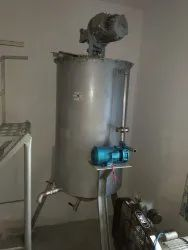Liquid Soap Mixing Machine, 440v, Capacity: 50 Ltr To 300 Ltrs