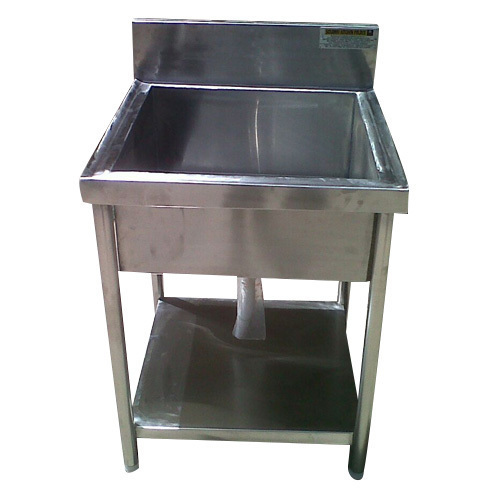 SKA Silver Single Bowl Commercial Kitchen Sink, Rs 10000 /piece | ID ...
