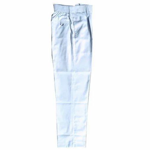 93ca8f6d5 White Cotton Kids Uniform Full Pant