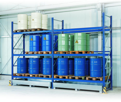 Drum Storage Racks & Drum Storage Racks Industrial Racks u0026 Storage System   Spanco ...