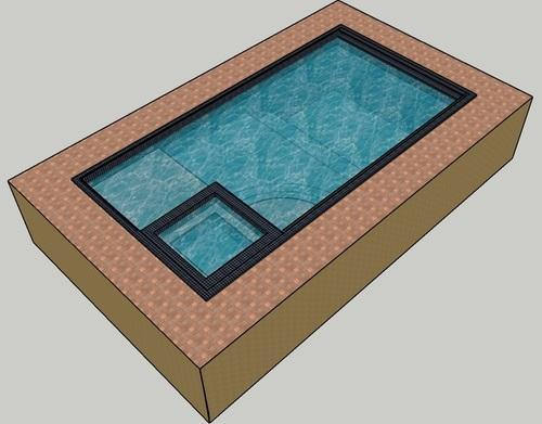 Precast Swimming Pool Tank, For Hotels/Resorts, For Hotels ...