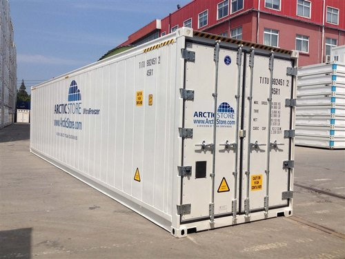 Stainless Steel Reefer Marine Container, Capacity: 30-40 Ton