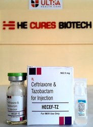 Ceftriaxone500 Tazobactum 62.5 Injection