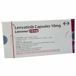 Lenvima Lenvatinib 10mg Capsules, Packaging Type: Box