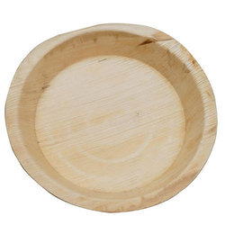 8 Inch Round Areca Leaf Plate
