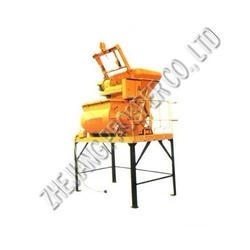 Automatic Mixing Concrete Plant JS500, Voltage: 320/420 V
