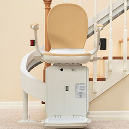 Curved Stair Chair Lift In Ak Curved Stair Chair Lift Lift Rs 550000 piece Lifting Solutions