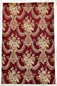 Traditional Red Wool Silk Rugs