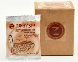 Zingysip Butterscotch Tea ( For Milk ) - 10 Sachets