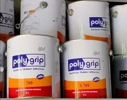 Poly Grip Synthetic Rubber Adhesive, 2 L, Tin Can